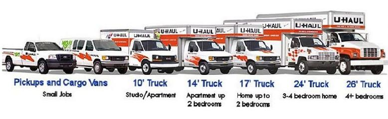 Uhaul at Mr. tire as well as auto repair.
